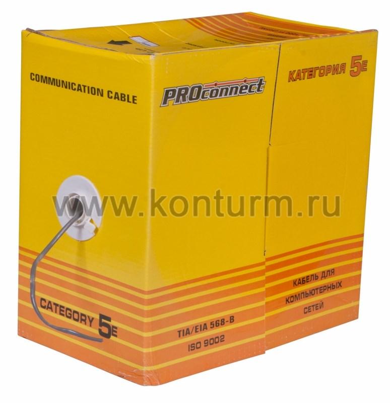 В интернет-магазине кабель витая пара неэкранированный (u/utp), категория 5e, 4х2х045мм solid, оболочка pvc